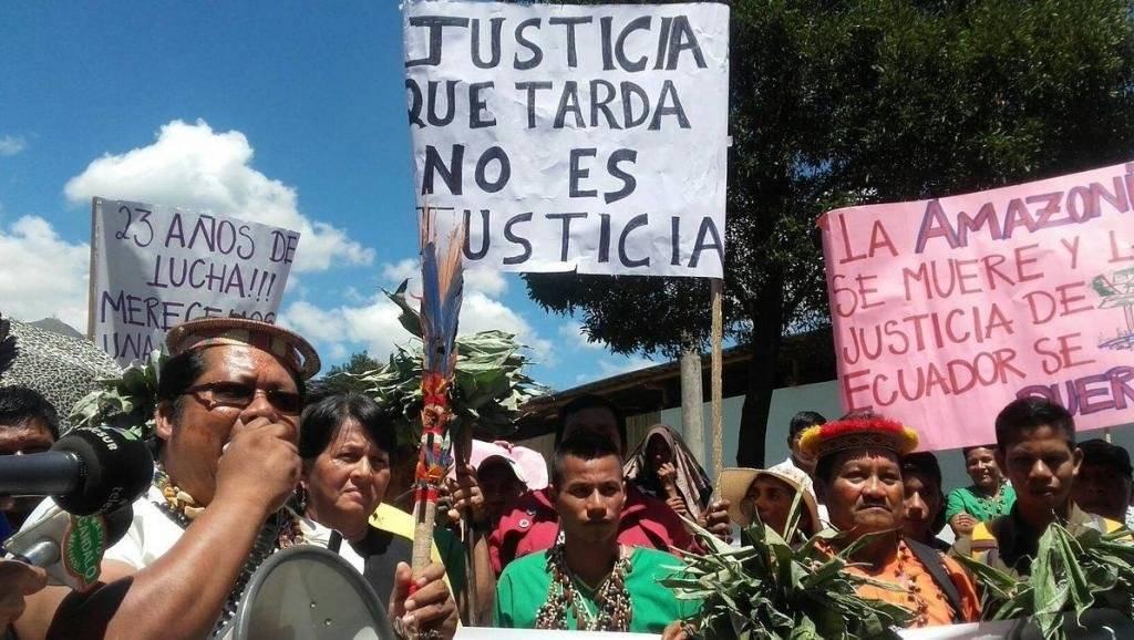 Corte Constitucional de Ecuador ratifica la sentencia contra Chevron en juicio ambiental ®UDAPT