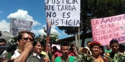 Corte Constitucional de Ecuador ratifica la sentencia contra Chevron en juicio ambiental