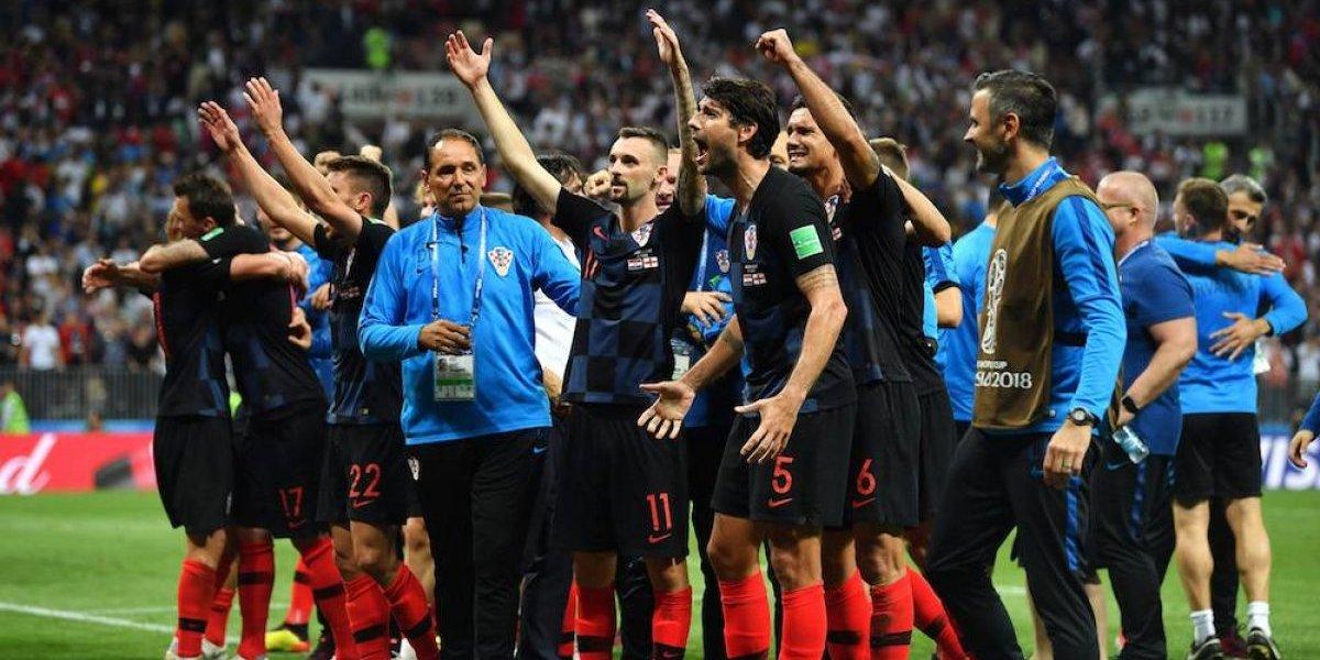 Croacia elimina a Inglaterra y jugará su primera final de un Mundial
