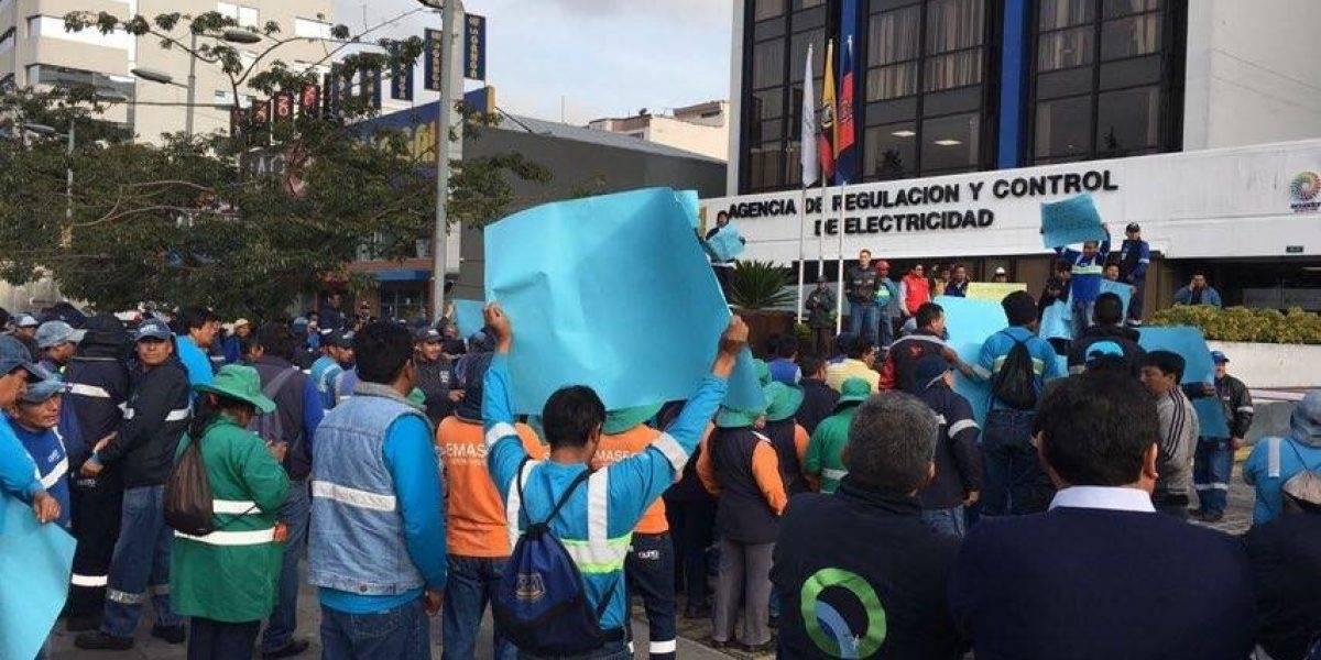 La respuesta de Emaseo ante la manifestación de trabajadores