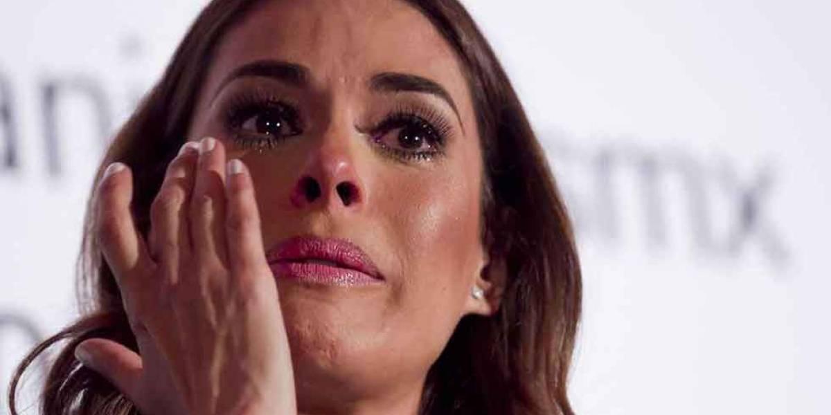 Galilea Montijo sufre desconsolada muerte de productor Santiago Galindo