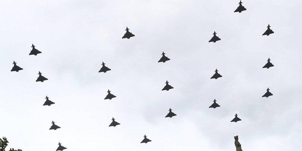 VIDEO. ¿Fuerza Aérea Británica presiona a Inglaterra con un mensaje en el cielo?