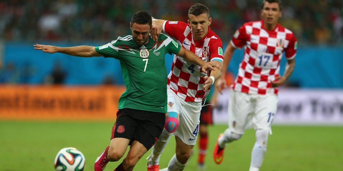 México le propinó la última derrota a Croacia en un Mundial