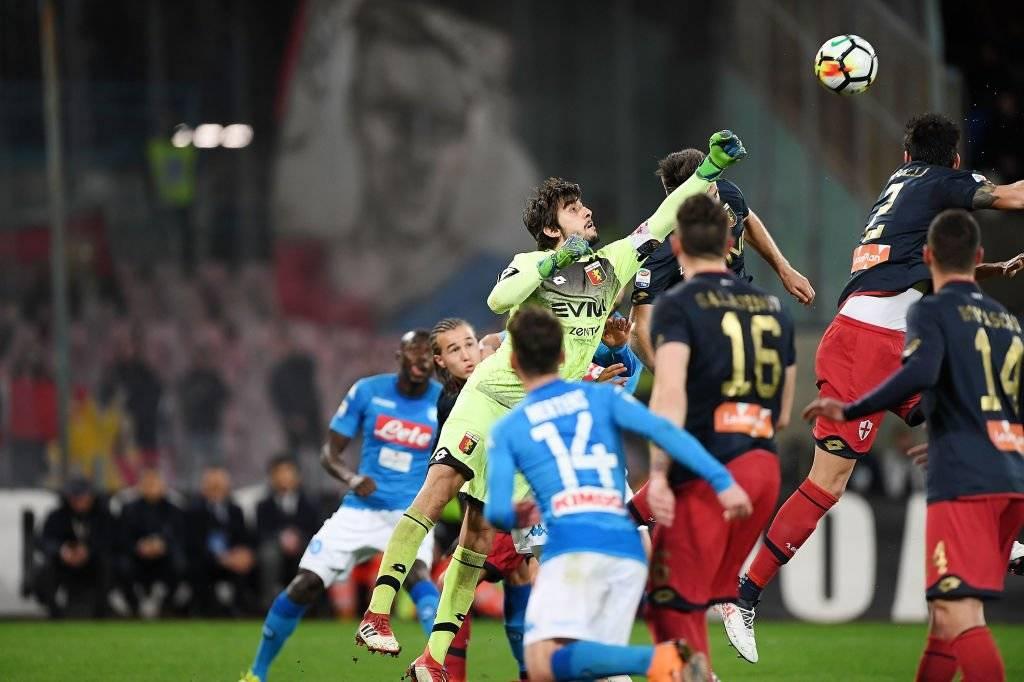Perin tuvo destacadas temporadas en el Genoa antes de convertirse en jugador de Juventus / Foto: Getty Images