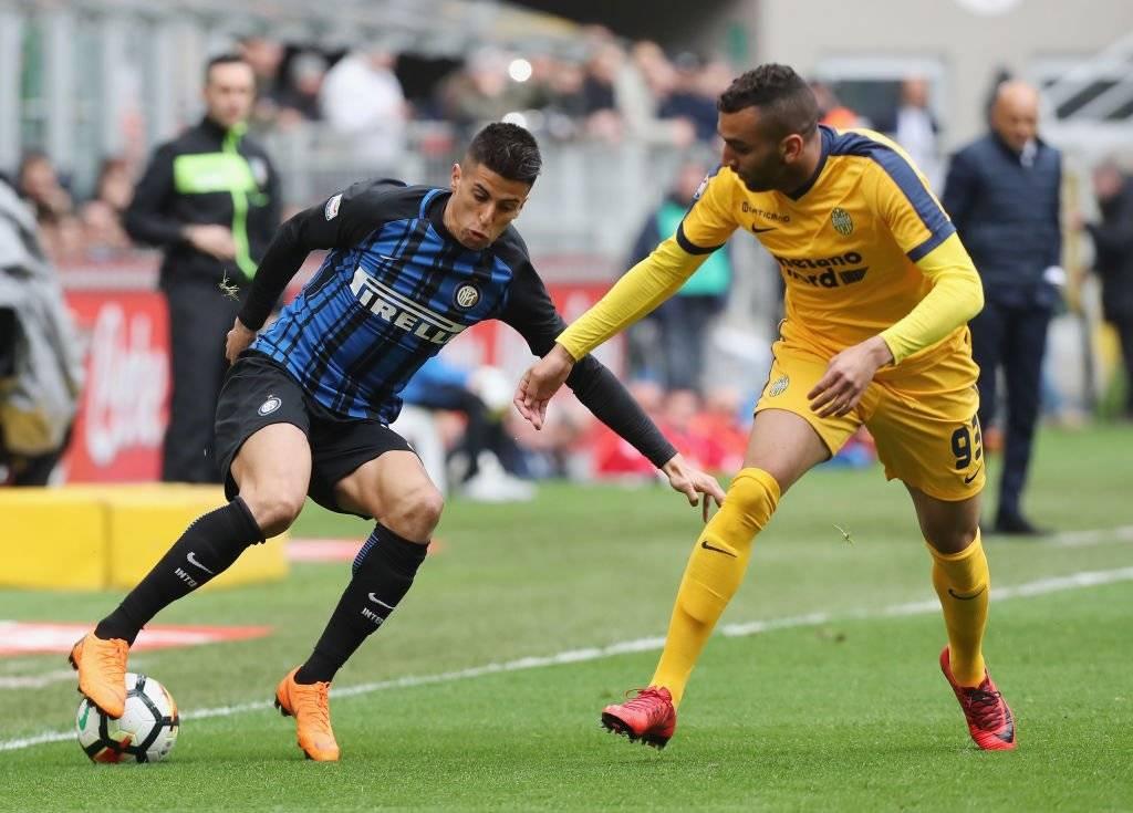 El portugués Joao Cancelo, que jugó en el Inter de Milán durante la última temporada, será el nuevo lateral derecho de la Juventus / Foto: Getty Images