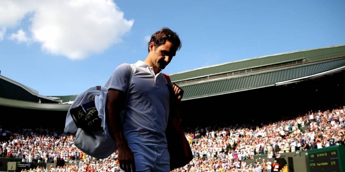 La derrota de Federer en Wimbledon rompió varios récords y lo aleja mucho de volver al Nº1