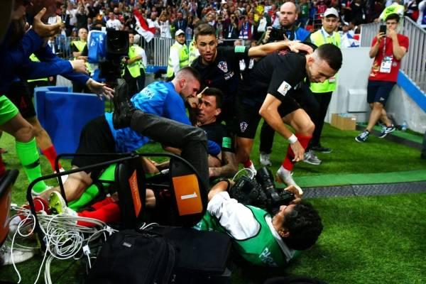 El hombre más infeliz de la selección de Croacia — Nikola Kalinic