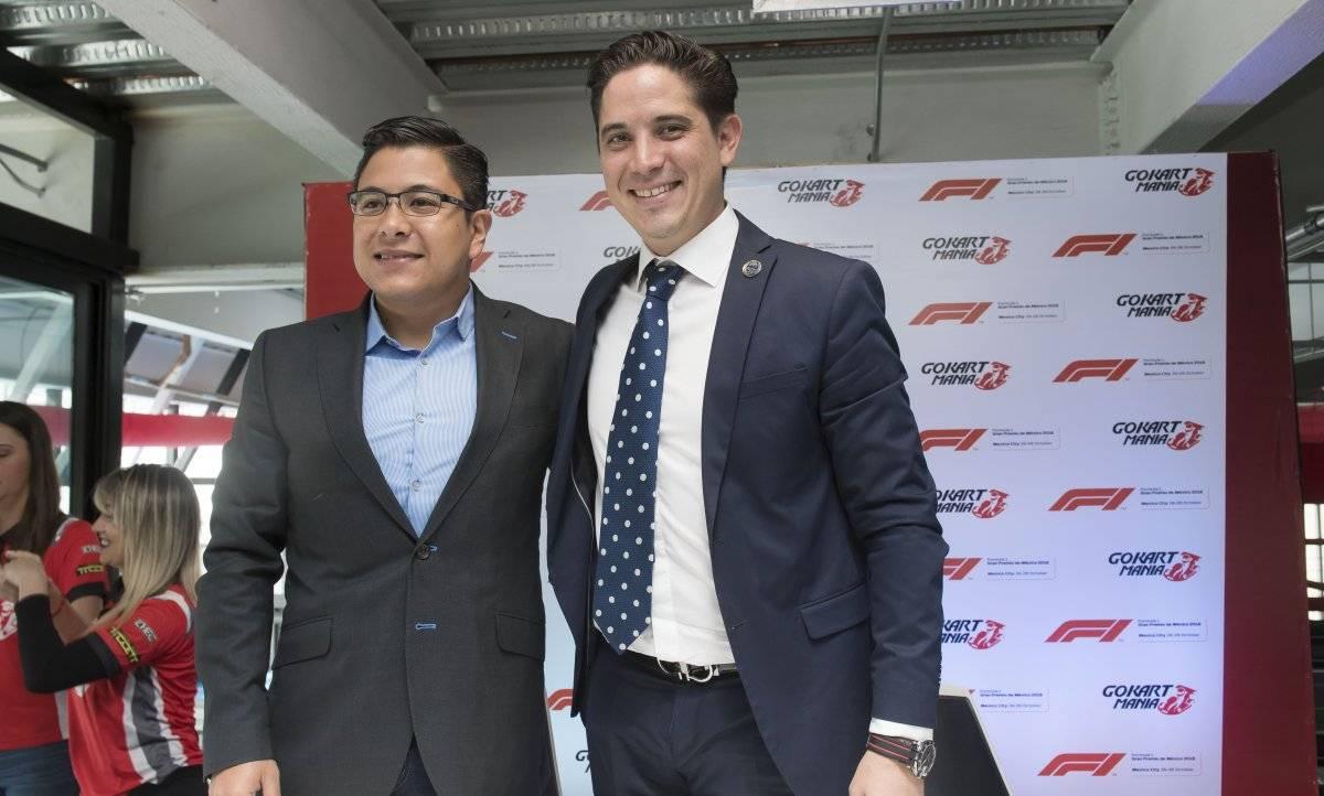 Nahum Olin y Rodrigo Sánchez hicieron el anuncio. / F1 GP de México