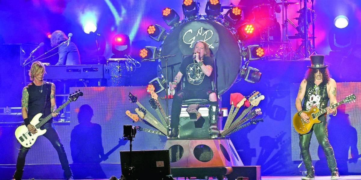 Guns N' Roses regresa a Monterrey para encabezar festival de rock