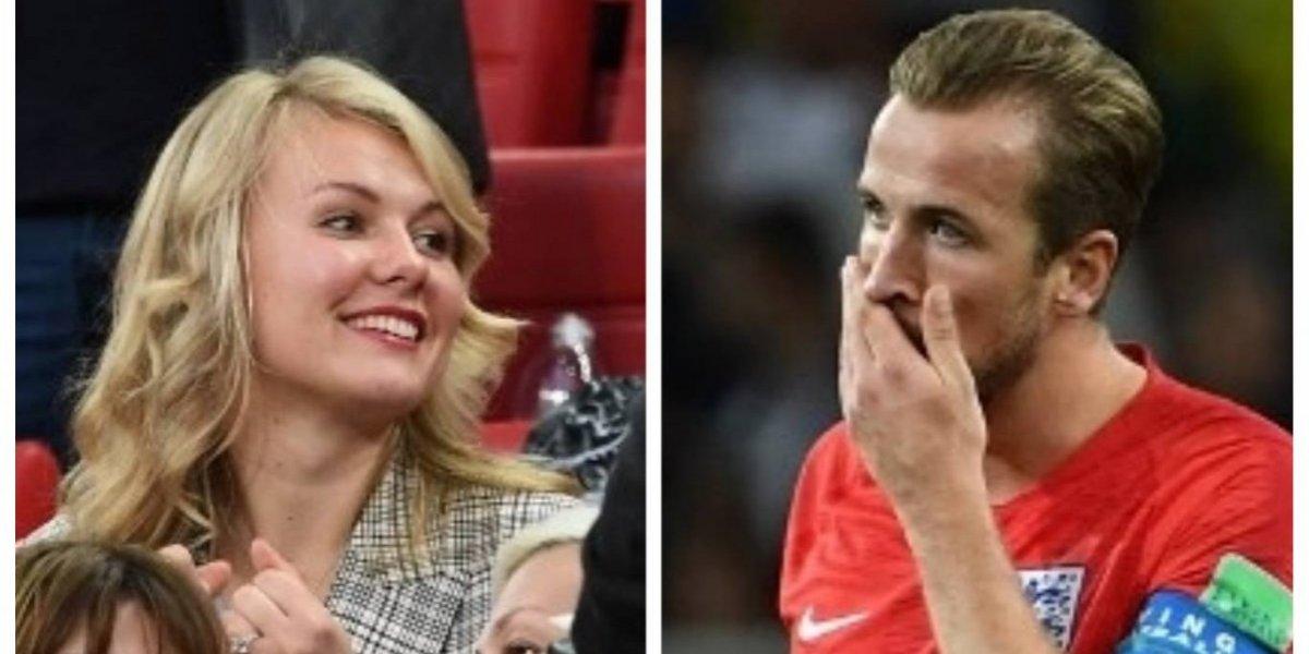 Harry Kane podría dejar el Mundial por su novia