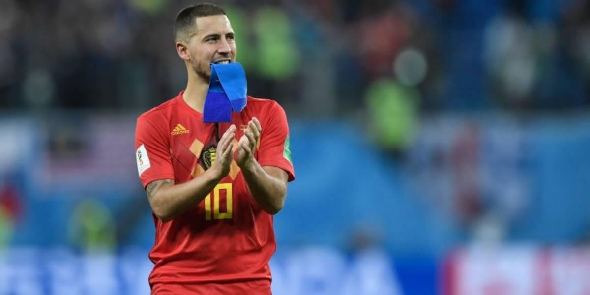 Notable: Televisión de Bélgica entrevista a una holografía del jugador Eden Hazard