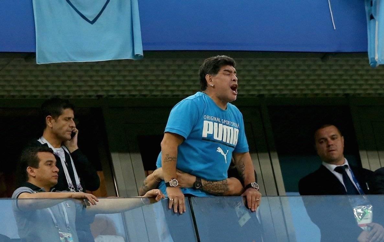 Diego Maradona en el Mundial