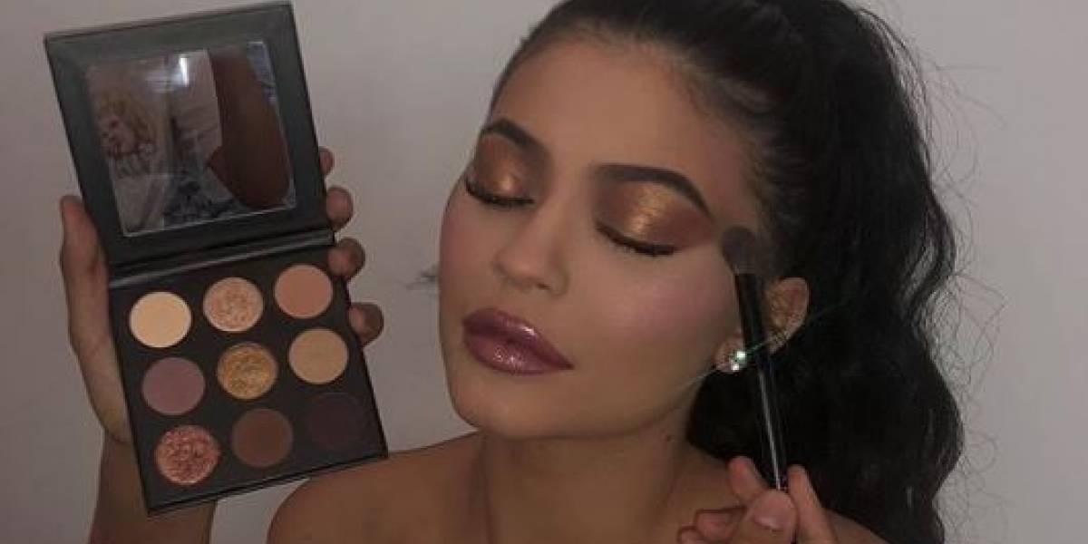 Esta é a marca de maquiagem da socialite Kylie Jenner