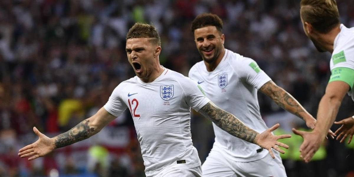 El récord en semifinales de un Mundial logrado por Trippier tras su gol ante Croacia