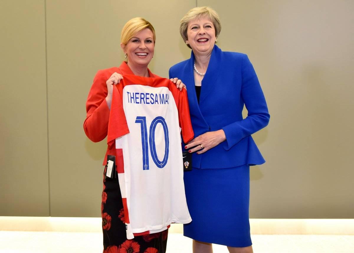 May recibió la camisola 10 de Croacia