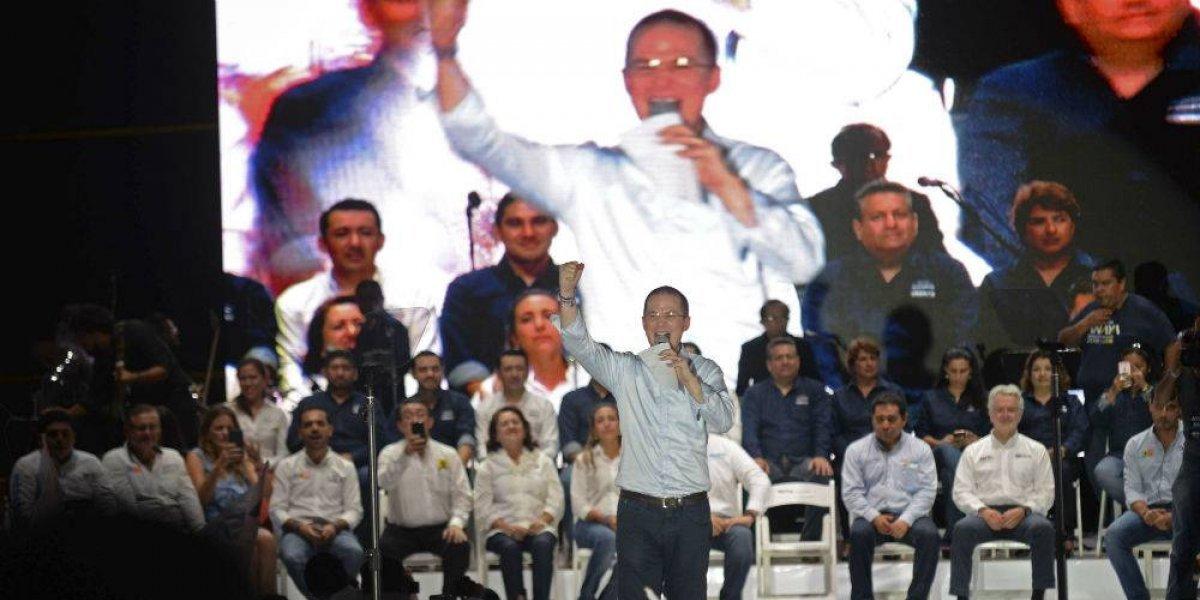 Líderes estatales del PAN apoyan a Zepeda y Anaya