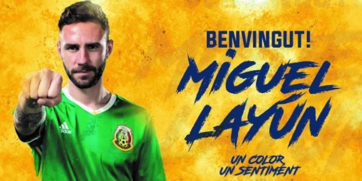 Villarreal hace oficial la contratación de Miguel Layún