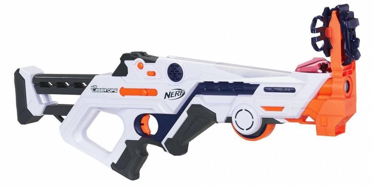 Nerf lanza nuevas pistolas con realidad aumentada