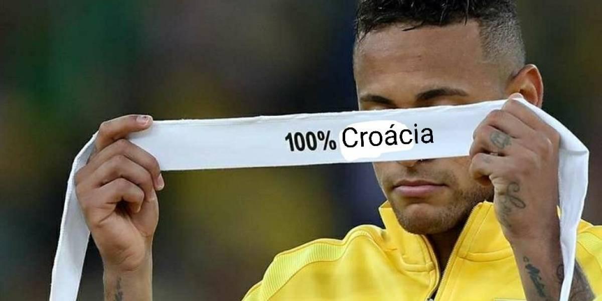 Croácia na final: Brasileiros comemoram vitória sobre a seleção da Inglaterra