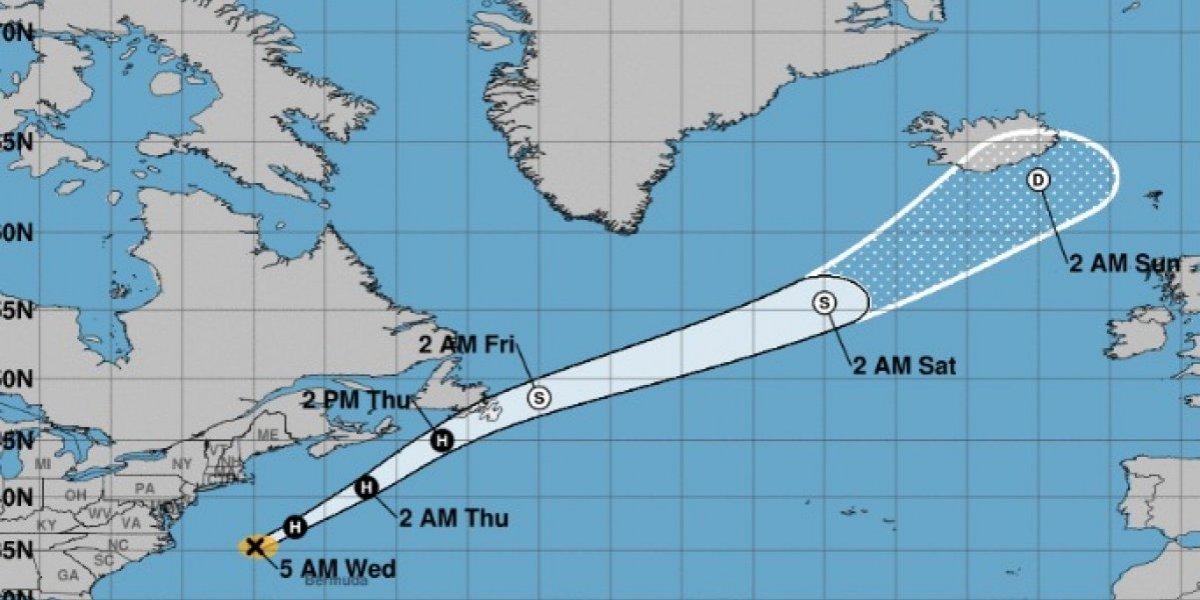 Huracán Chris envía fuertes marejadas a costas de Estados Unidos
