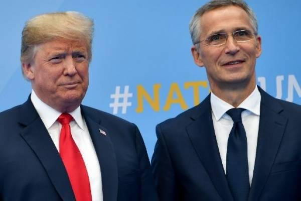 Donald Trump en la OTAN