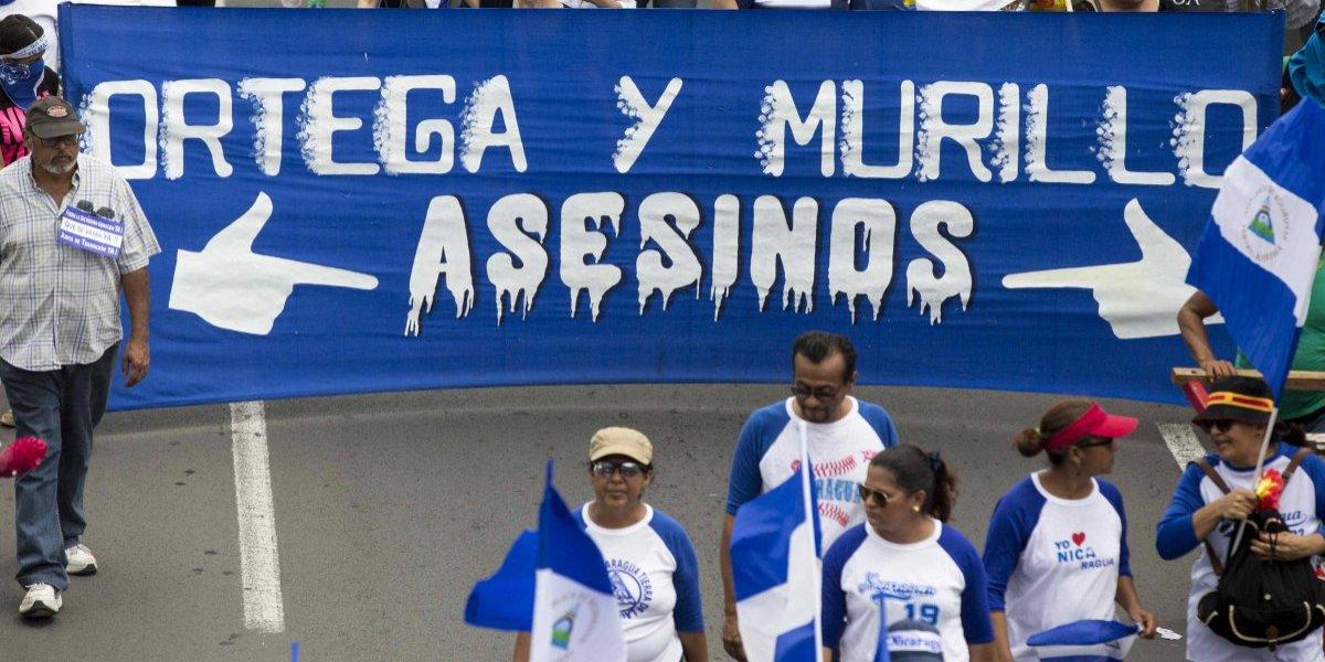 Comienza en Nicaragua una multitudinaria marcha contra el presidente Ortega