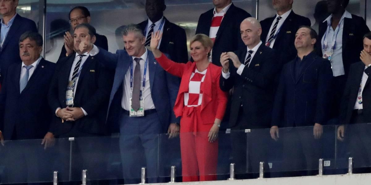 Presidente da Croácia faz sucesso e é uma das personagens mais carismáticas da Copa