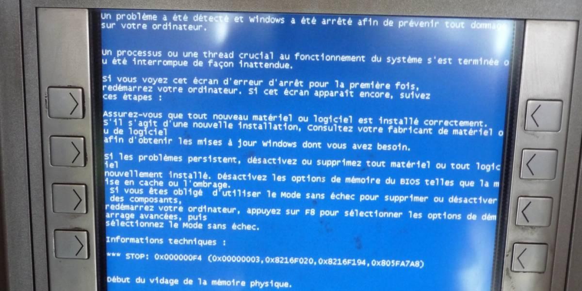 """Banco de Chile actualiza sus cajeros a Windows 7 para """"mejor seguridad"""""""