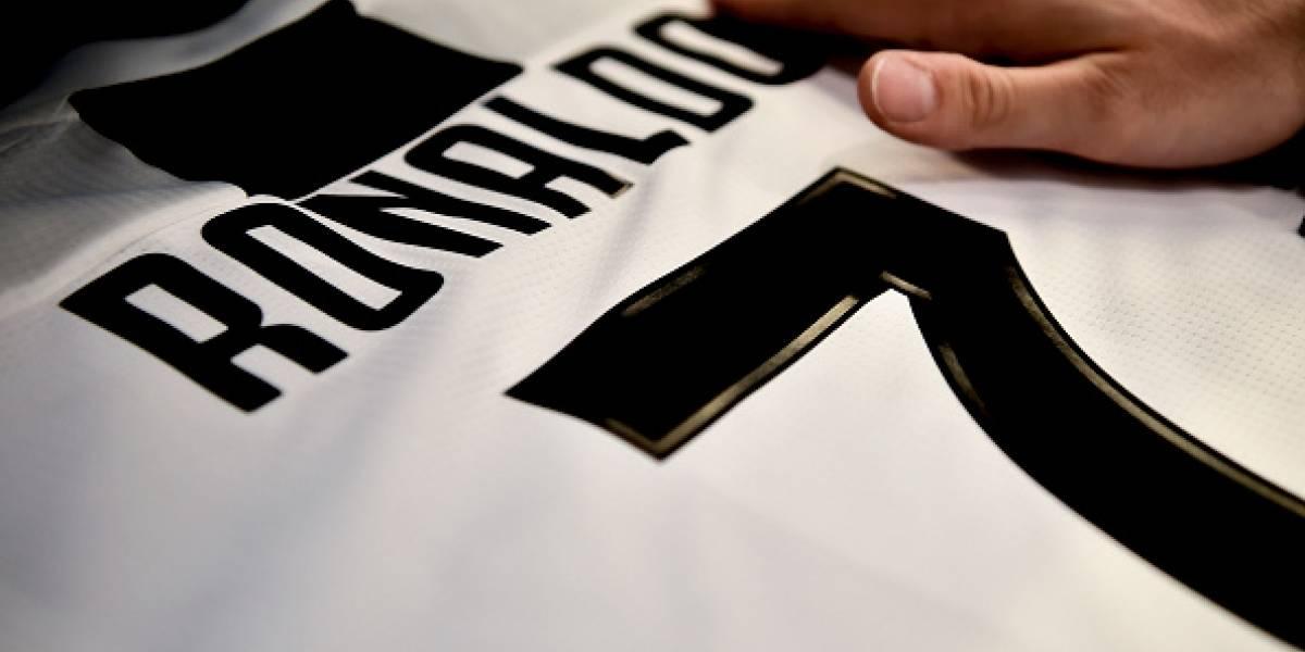 Precio de la camiseta de Cristiano Ronaldo con la Juventus
