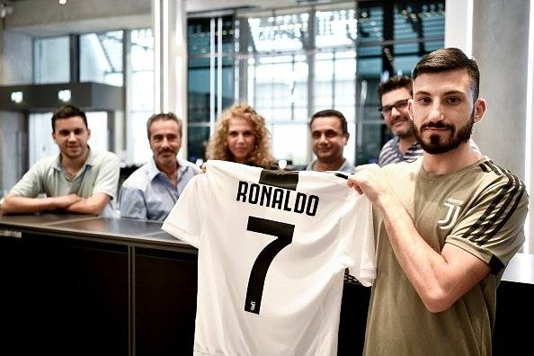 Camiseta Cristiano Ronaldo Getty Images