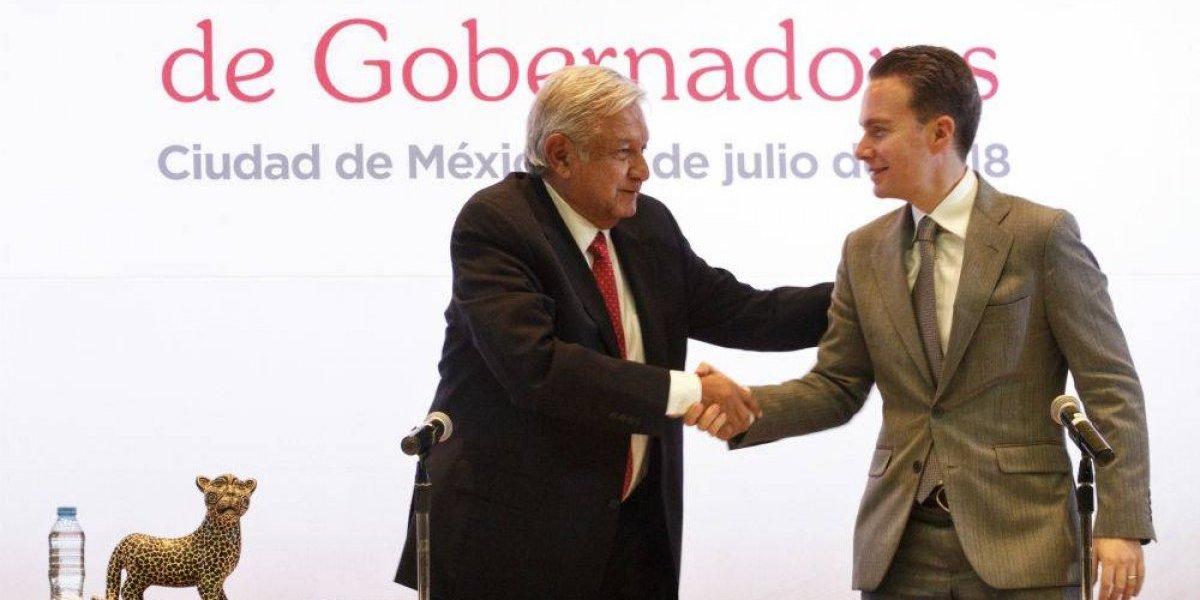 AMLO y Conago se comprometen a trabajar juntos por reconciliación nacional