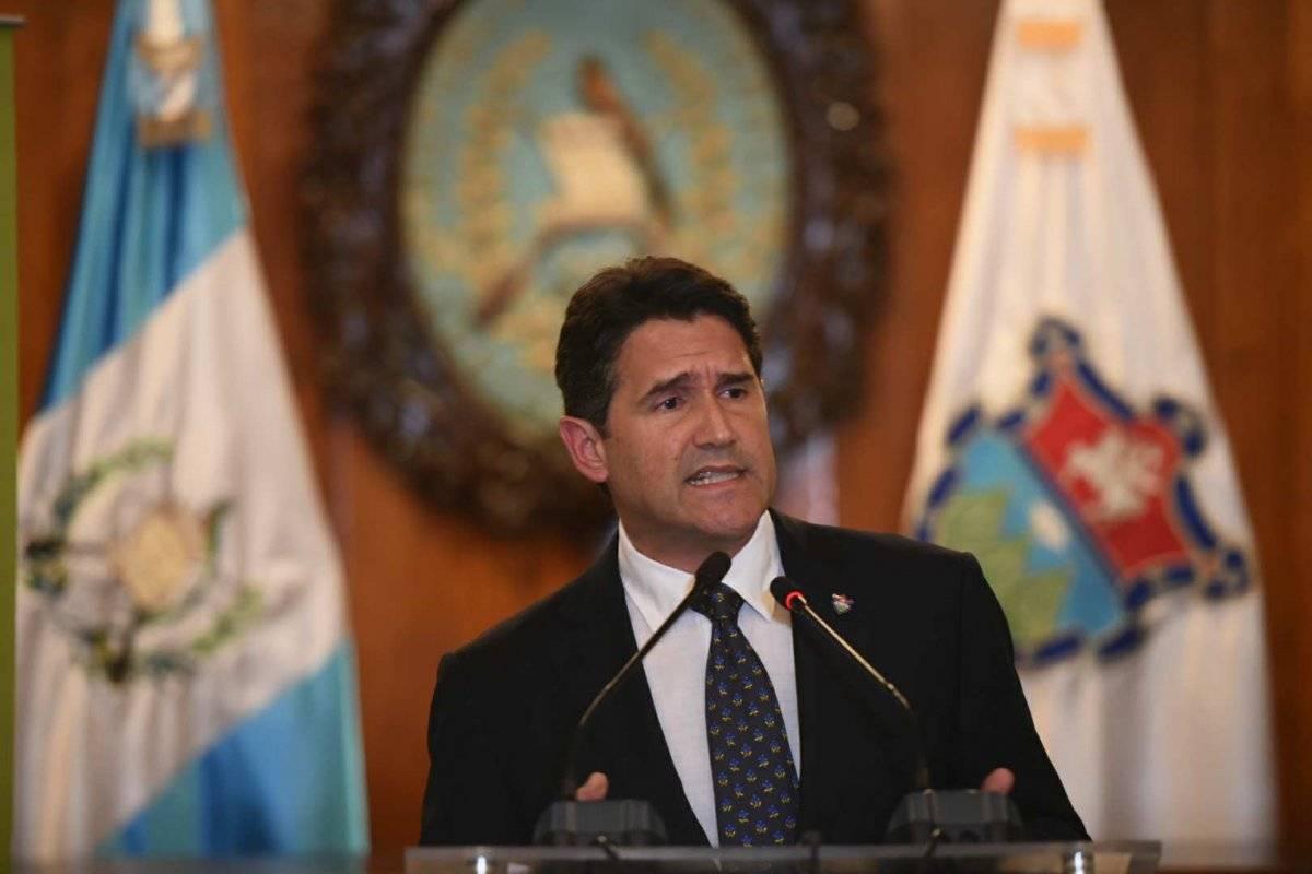 Ricardo Quiñónez es el alcalde capitalino. Foto: Edwin Bercián