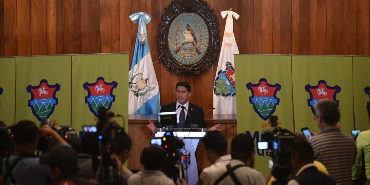 """Ricardo Quiñónez: """"La información entregada se puede encontrar en Guatecompras"""""""