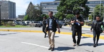 allanamientos en municipalidad de Guatemala