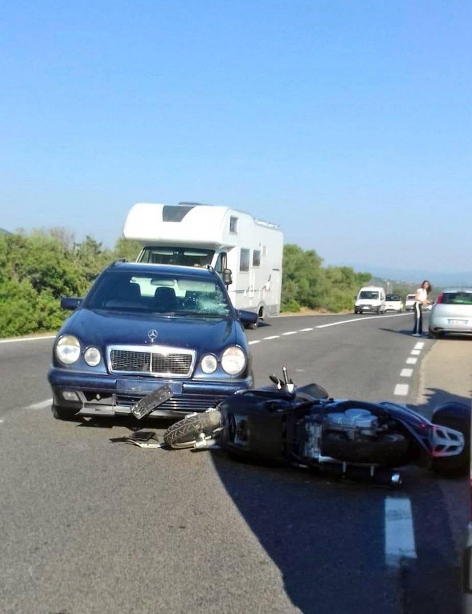 El impactante video del accidente de George Clooney AP