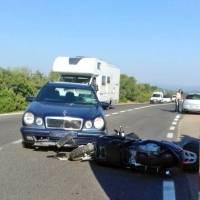 El impactante video del accidente de George Clooney