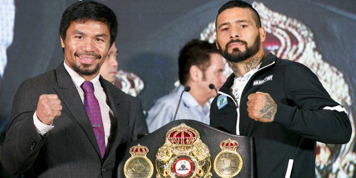Manny Pacquiao vaticina pelea reñida con el argentino Lucas Matthysse