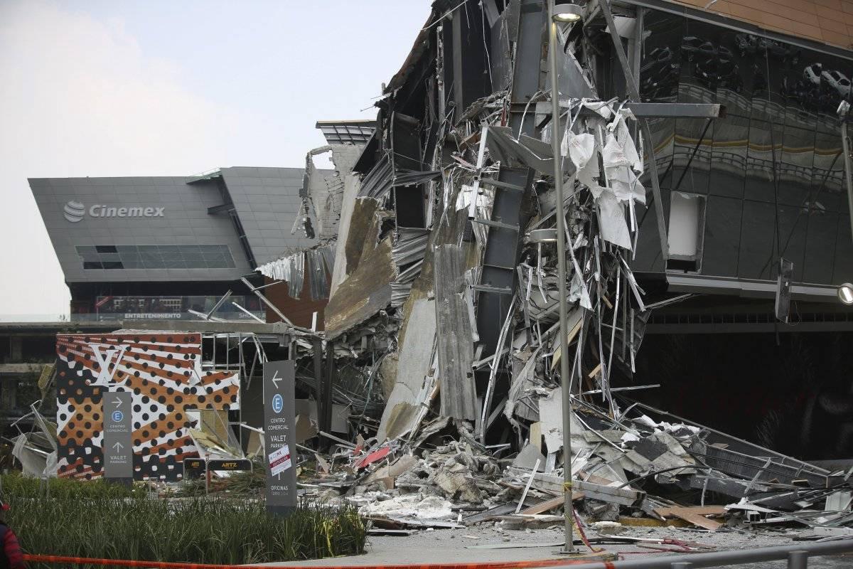 derrumbe mall Ciudad de México