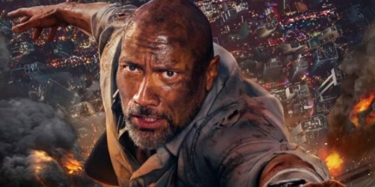Dwayne Johnson se aventura nas alturas em Arranha-Céu – Coragem sem Limite