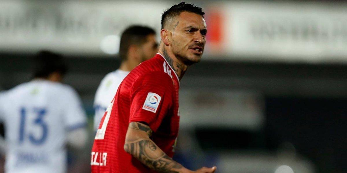 Pinilla alarga su ausencia en la U por una nueva lesión y se perderá la revancha ante Cobreloa por Copa Chile