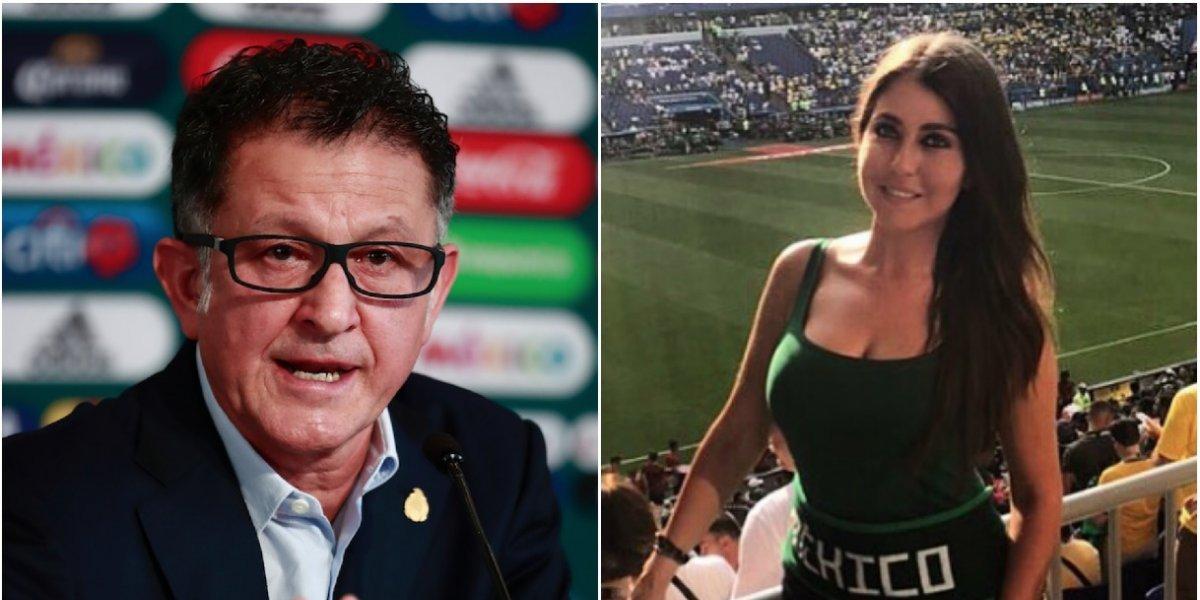 Ella es la supuesta amante de Juan Carlos Osorio, por la que el Profe seguiría como DT de México