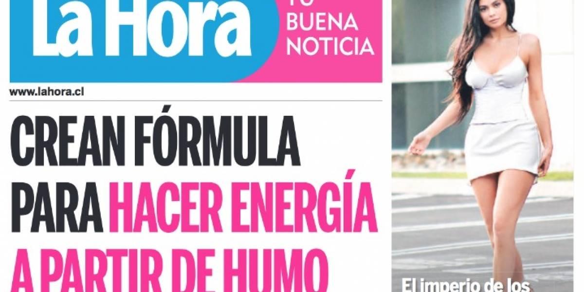 Grupo Copesa confirmó fusión de los diarios La Cuarta y La Hora : 30 ...