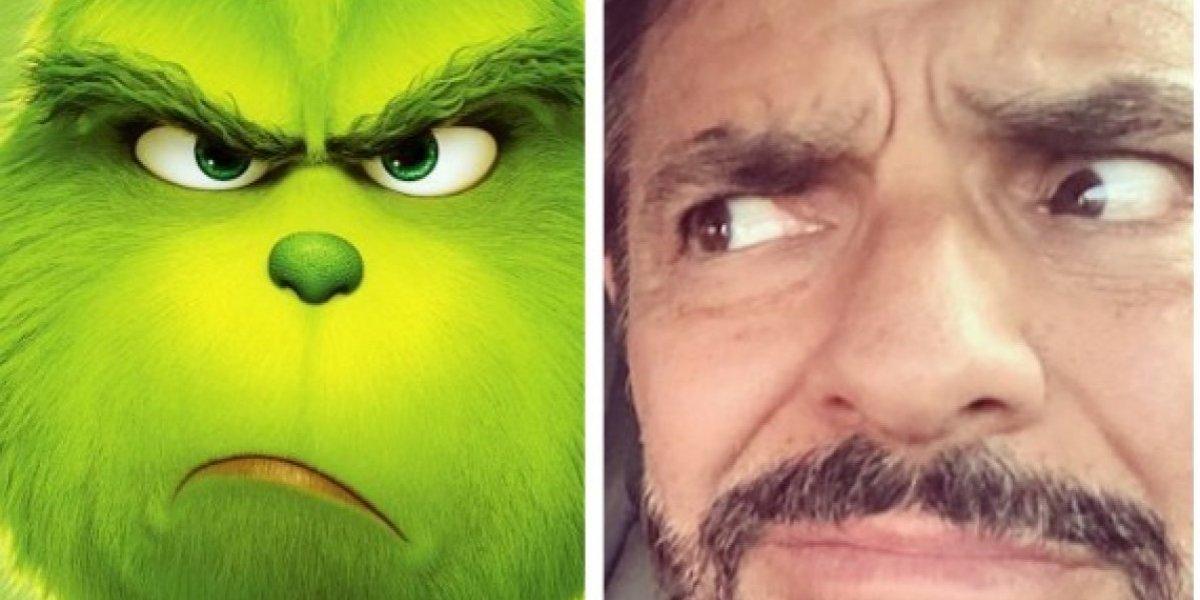 Ama a Eugenio Derbez en la nueva película de 'El Grinch'