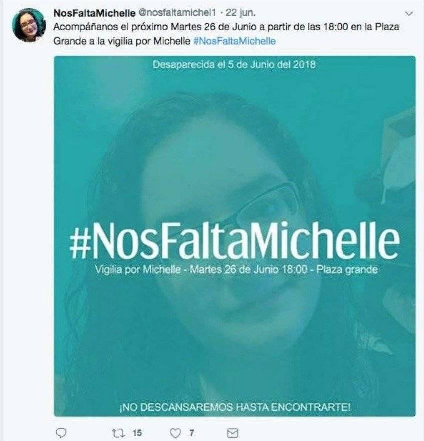 Vigilia por Michelle Montenegro