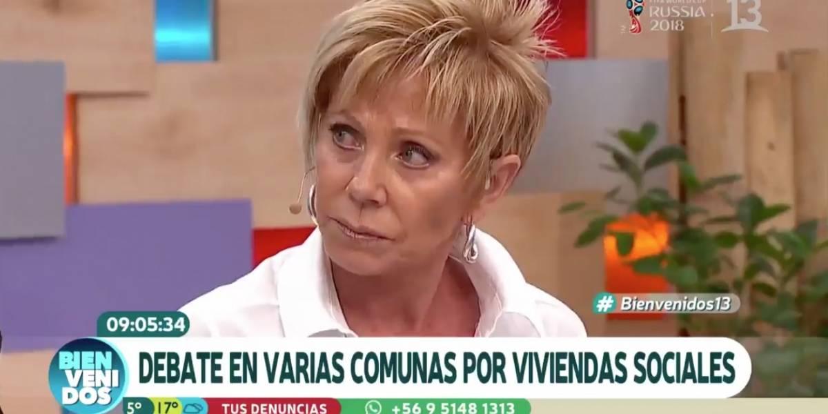 """""""El chileno es cómodo, le gusta que le den cosas"""": Raquel Argandoña es criticada y tratada de clasista por esta y otras frases en """"Bienvenidos"""""""
