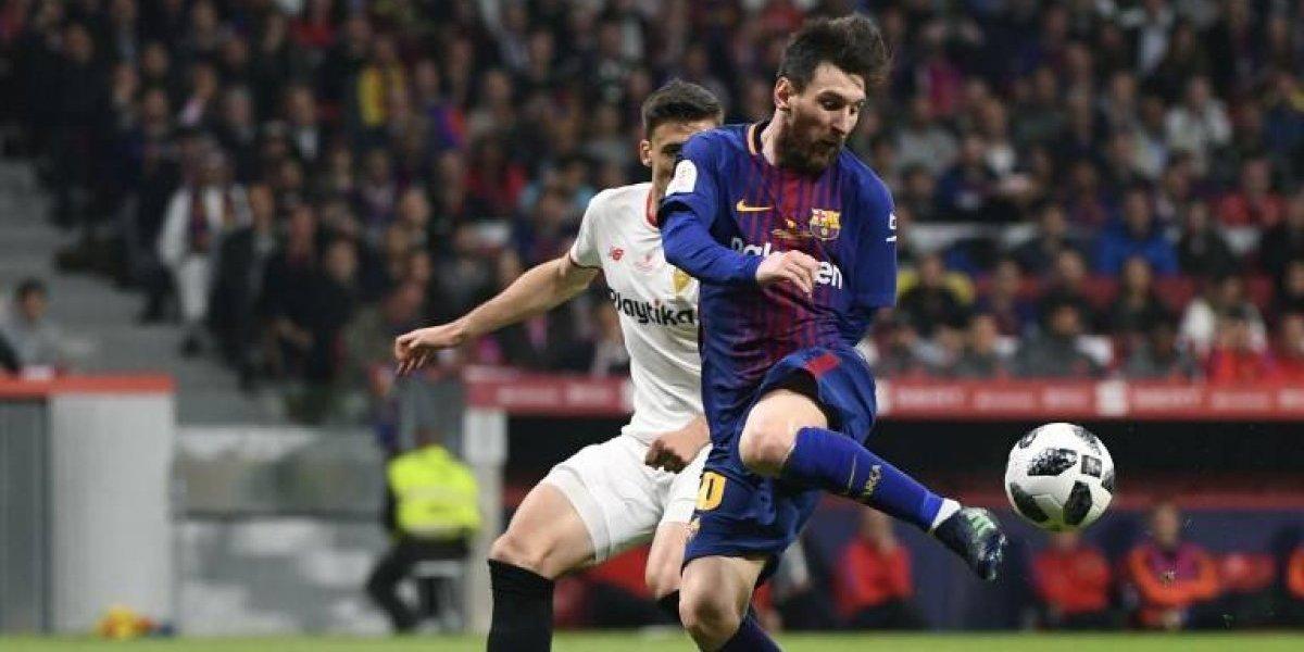 Barcelona anuncia fichaje de central francés para las próximas cinco temporadas
