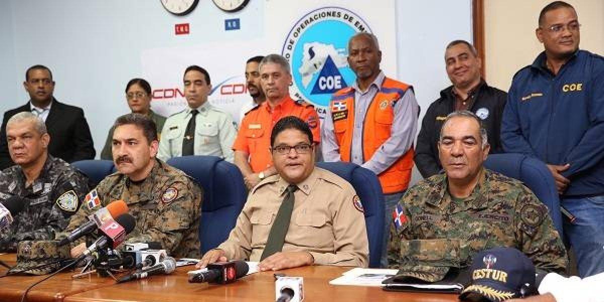 COE saca a seis provincias de lista de alerta por lluvias