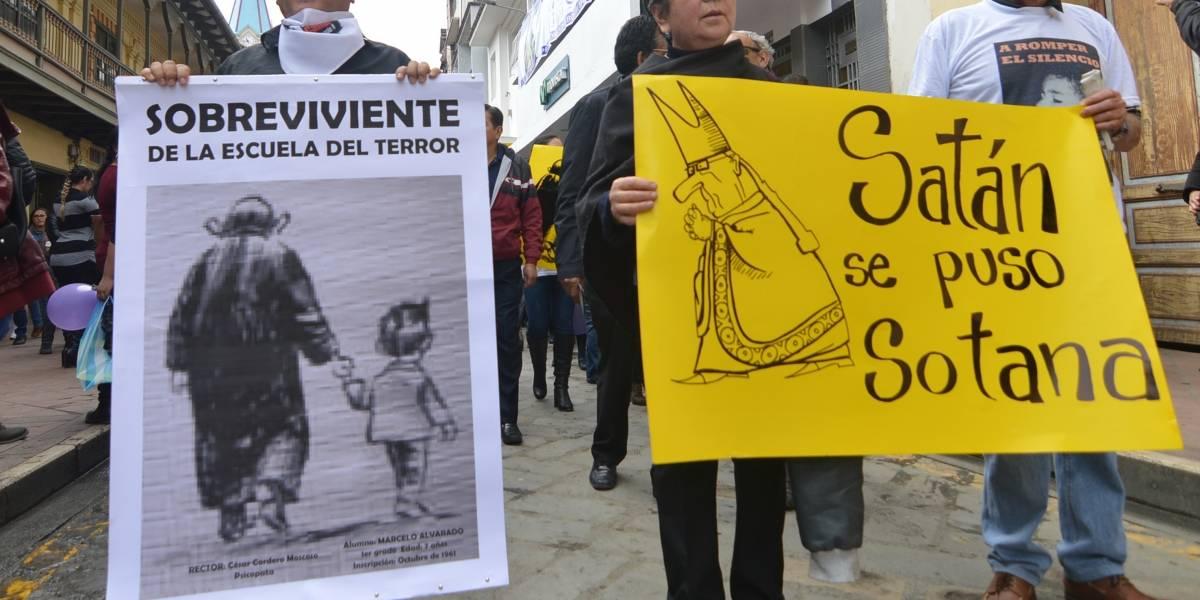 Falleció Marcelo Alvarado, uno de los denunciantes del sacerdote César Cordero