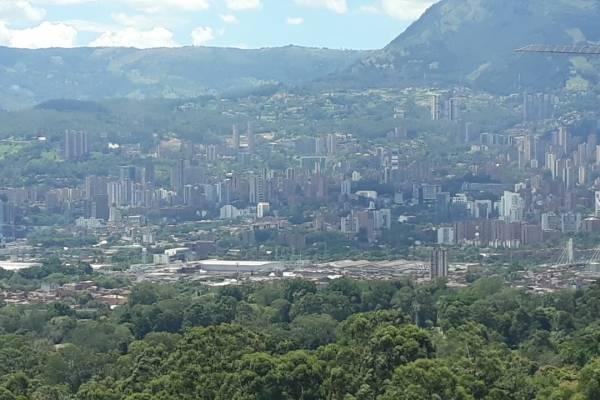 El Poblado Medellín julio 2018
