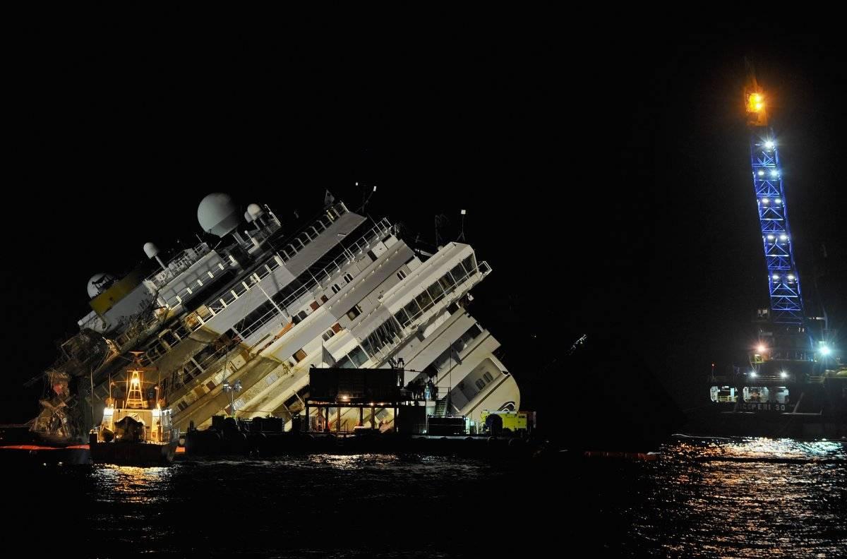 Costa Concordia viernes 13